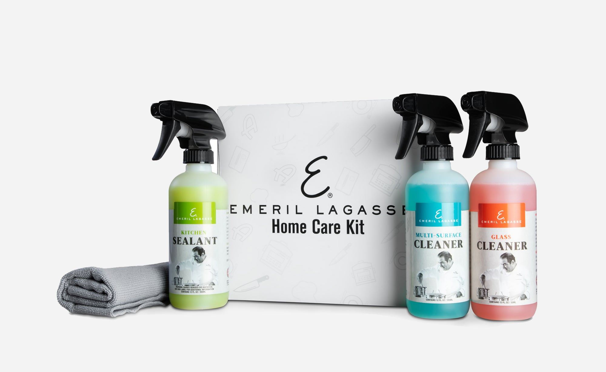 Adam's x Emeril Lagasse Home Care Kit