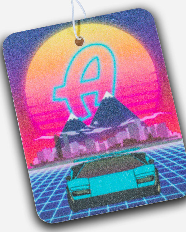 Adam's Electric Sunset Air Freshener