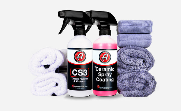 Adam's CS3 & Ceramic Spray Coating Kit
