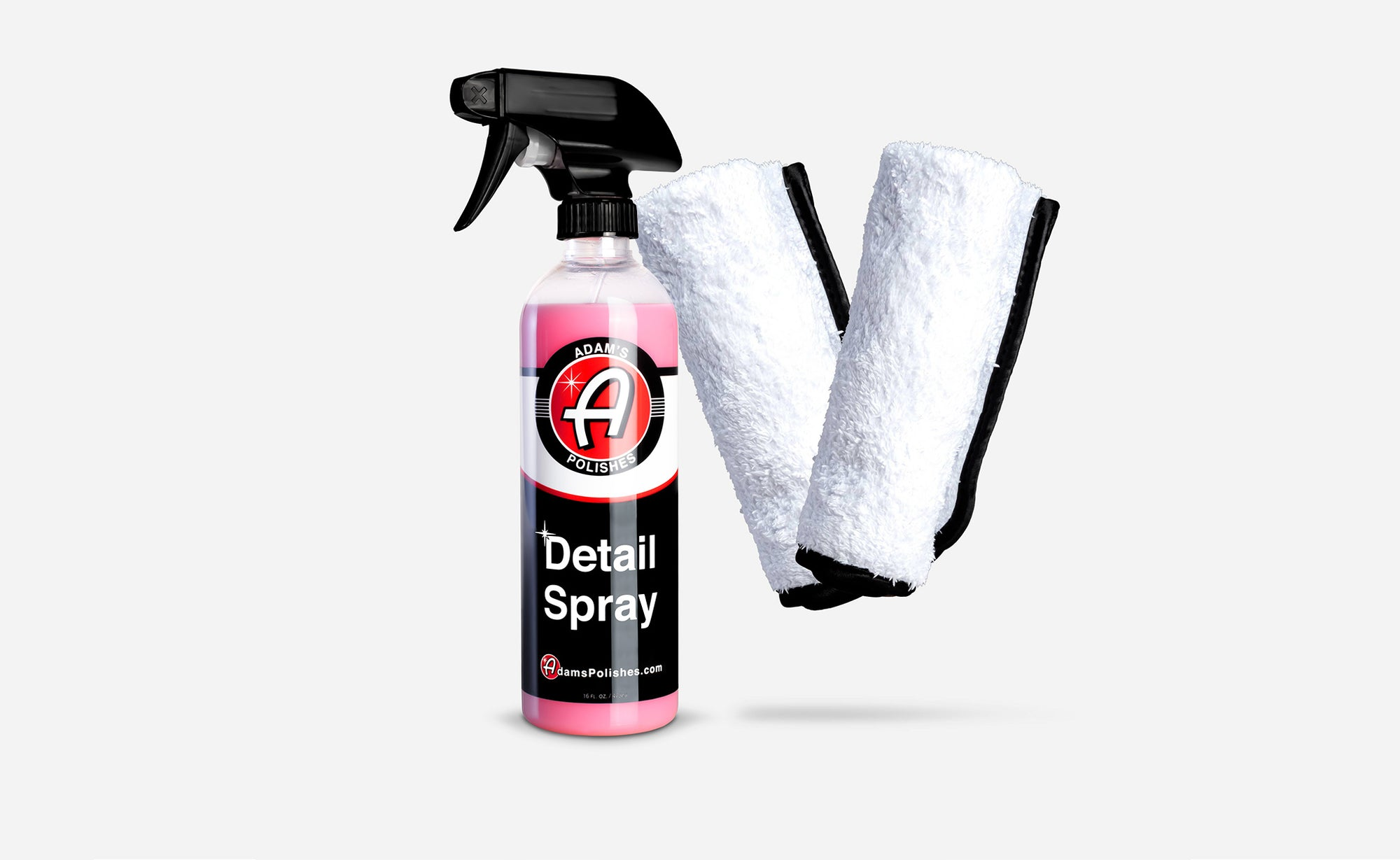 Adam's Detail Spray & 2 Towel Combo