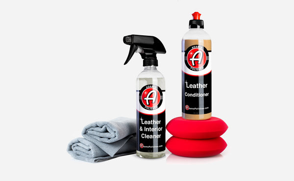 Adam's Leather & Interior Care Kit