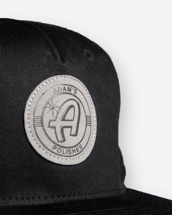 Adam's Black Hat - Grey Patch