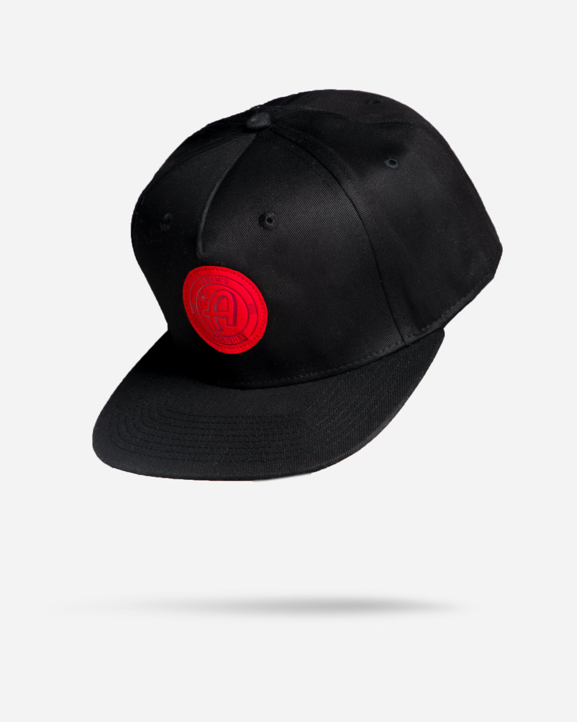 Adam's Black Hat - Red Patch