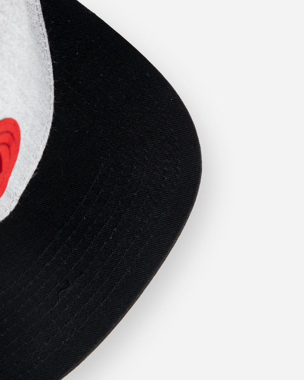 Adam's Grey Hat - Red Patch
