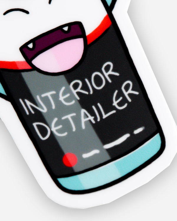 Adam's Cartoon Interior Detailer Sticker