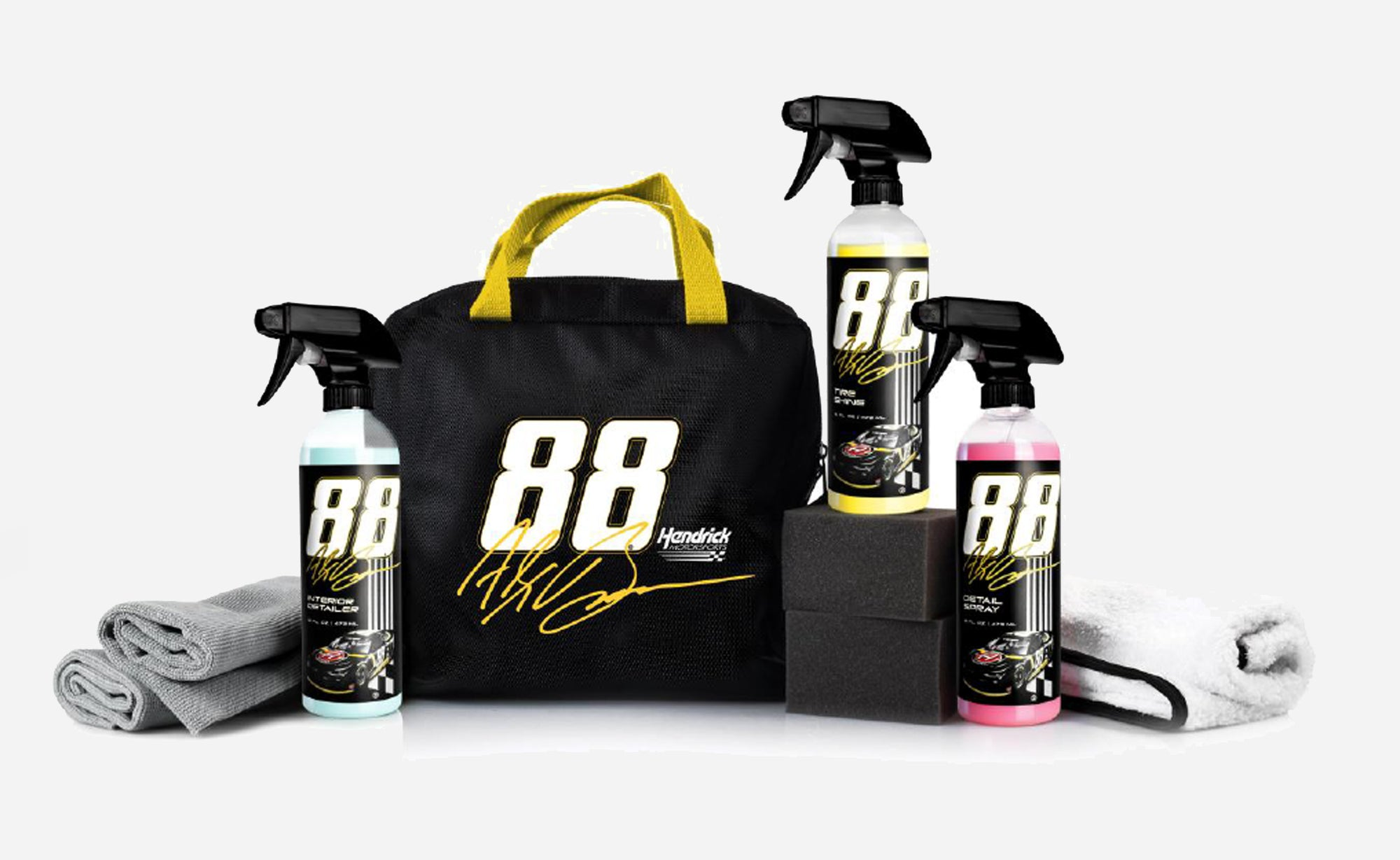Adam's Polishes x Alex Bowman #88 Chevy Goods Bag Kit