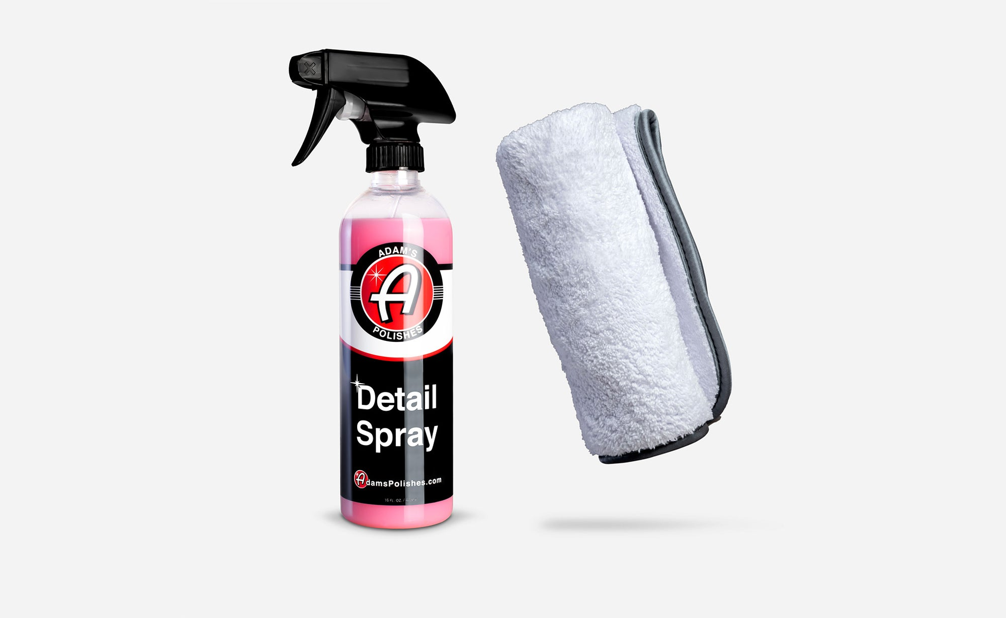 Adam's Detail Spray 16oz & Double Soft