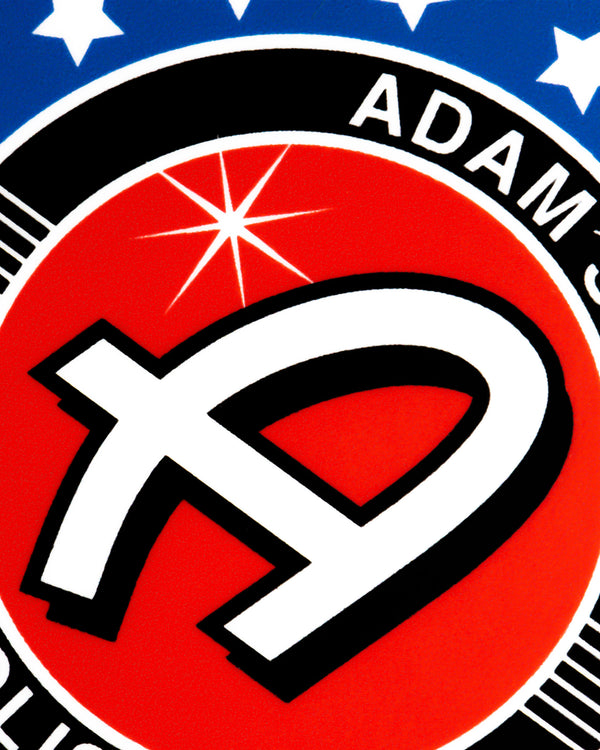 "Adam's American 3"" Sticker"
