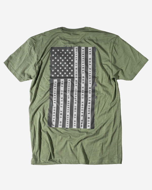 Adam's American Pride Green Shirt