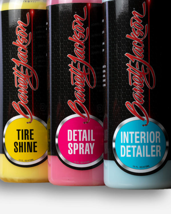 Adam's Polishes x Barrett-Jackson Detail Kit