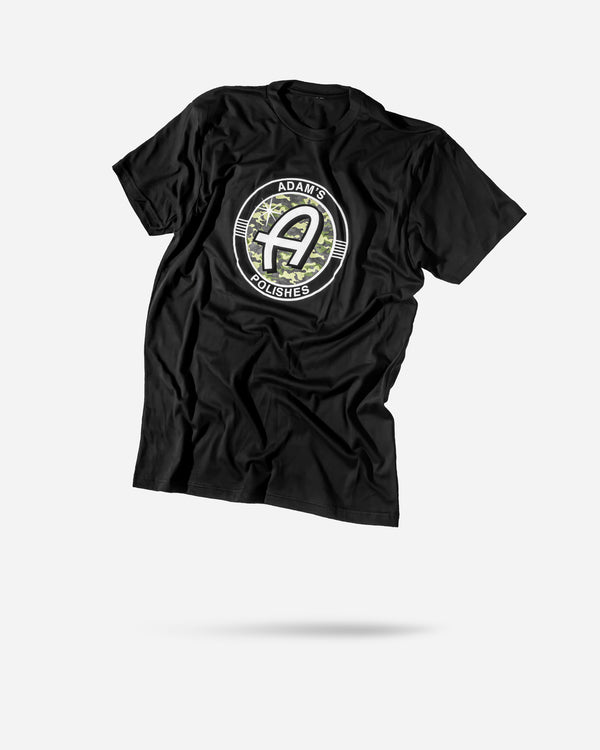 Adam's Camo Logo Black Shirt