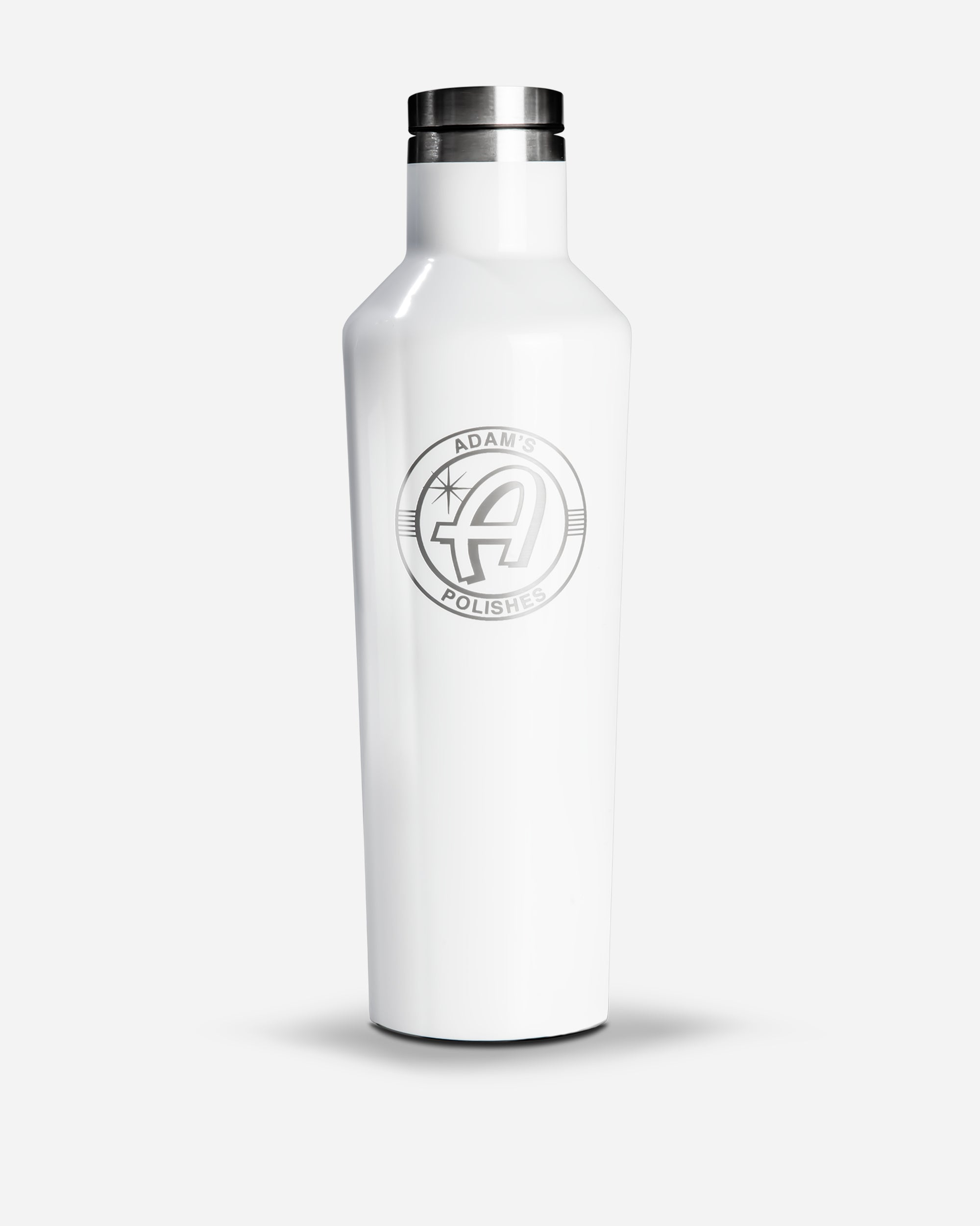 Adam's X Corkcicle Canteen Bottle White (16oz)