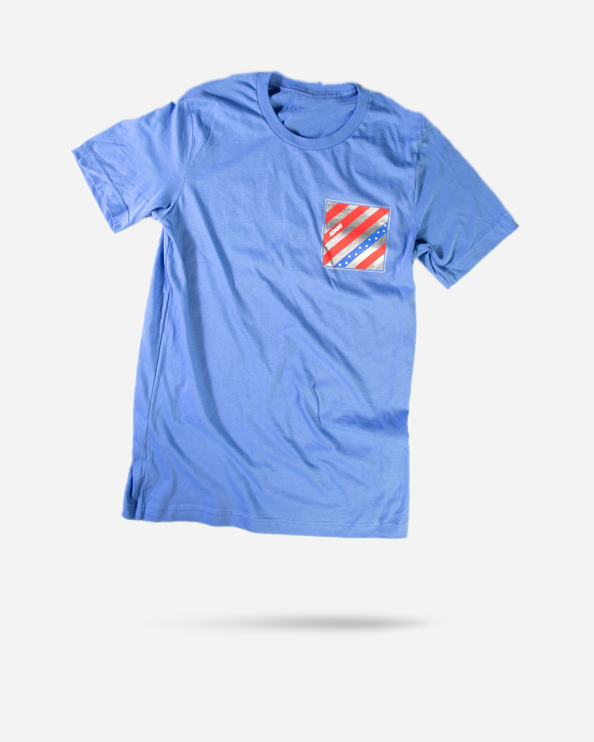 Adam's Blue USA Logo Shirt