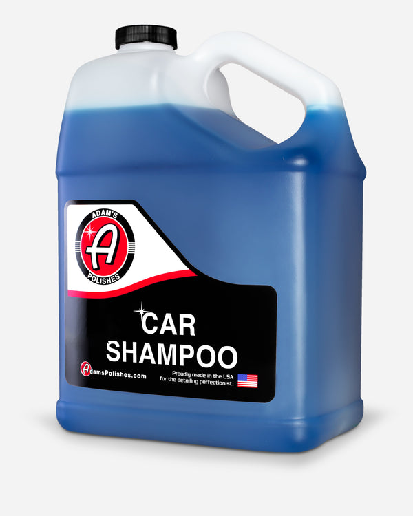 Adam's Car Shampoo Gallon with Free 16oz