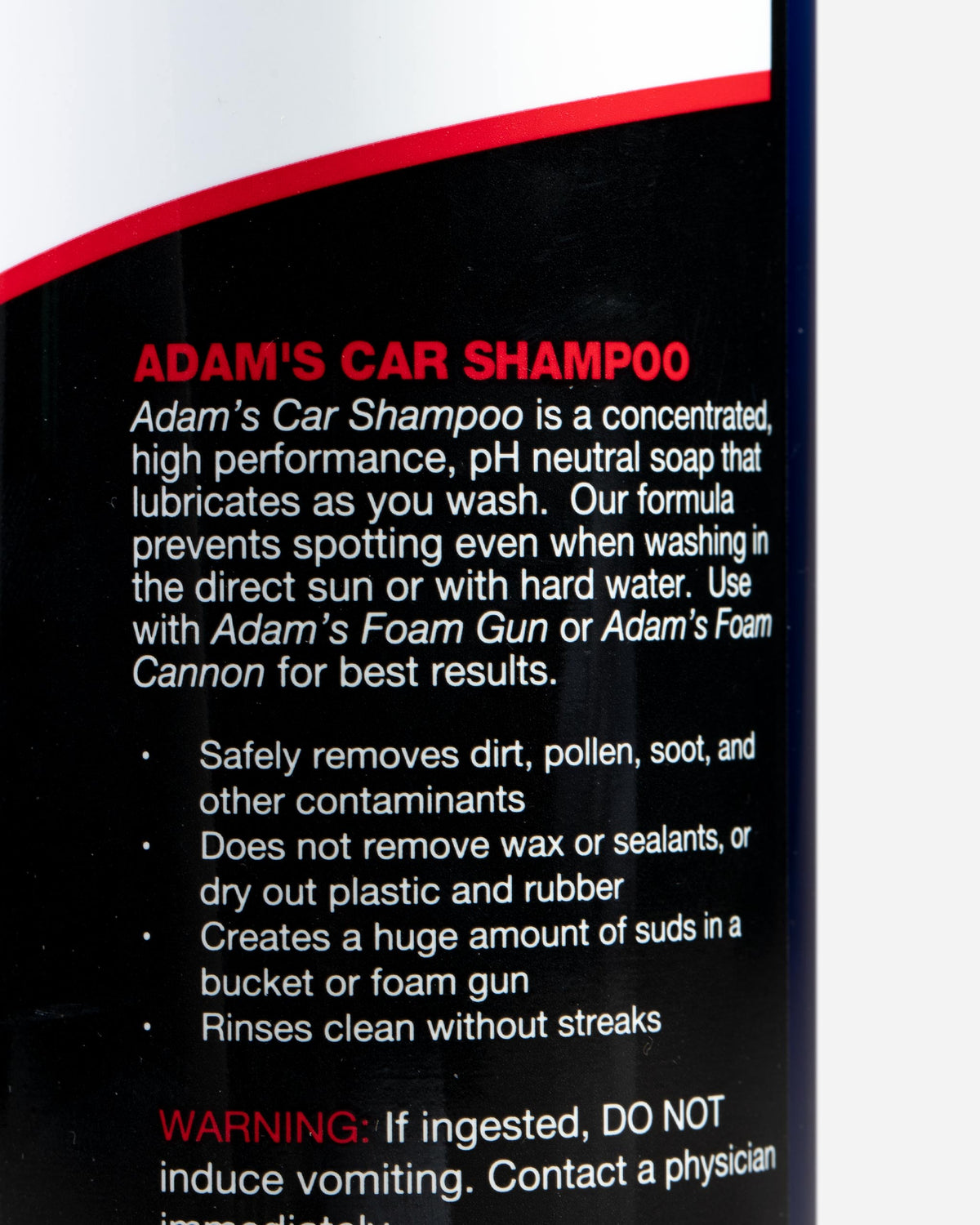 Adam's Car Wash Shampoo