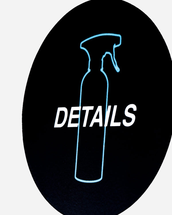 Adam's Blue Bottle Details Sticker