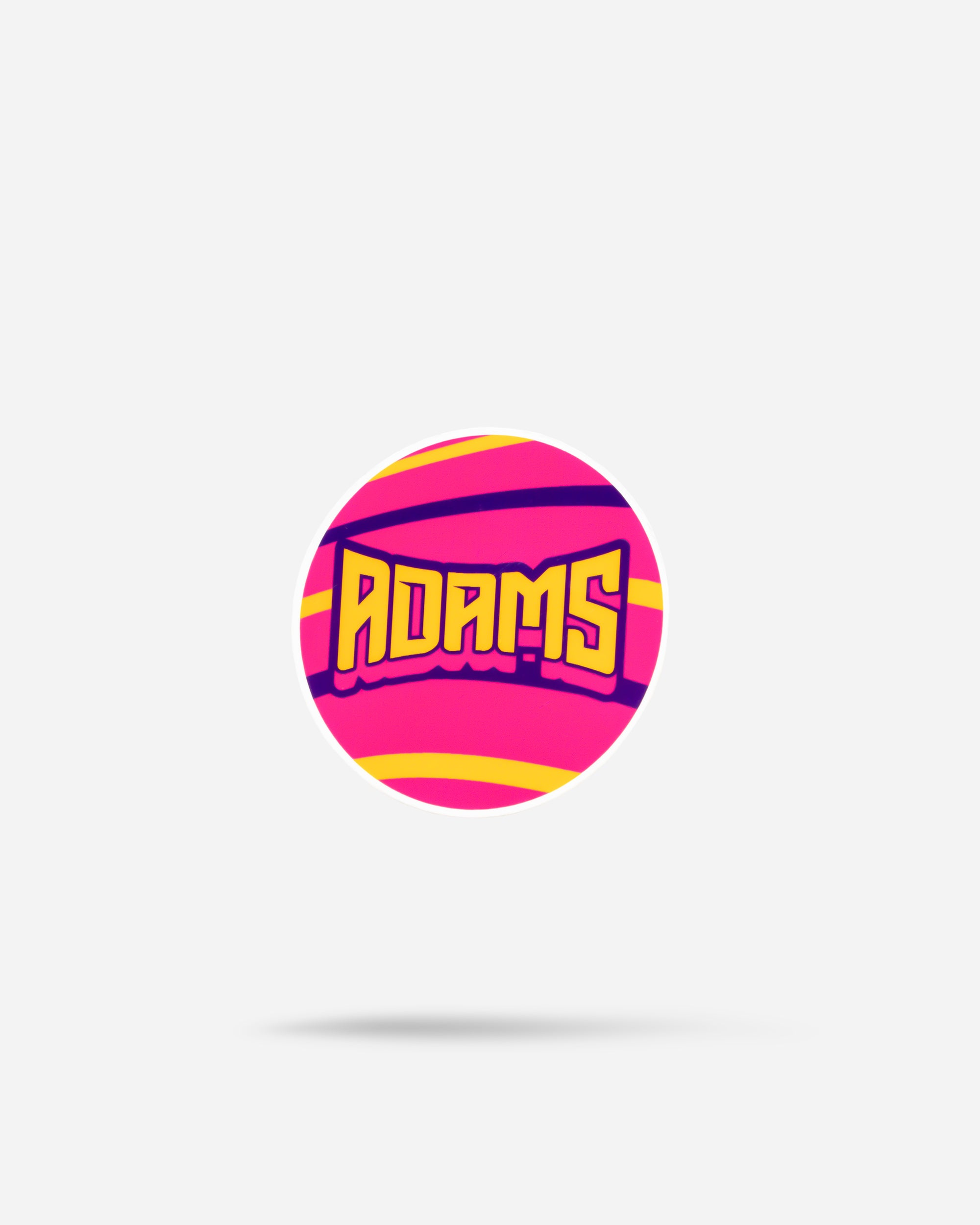 Adam's Vivid Circle Sticker