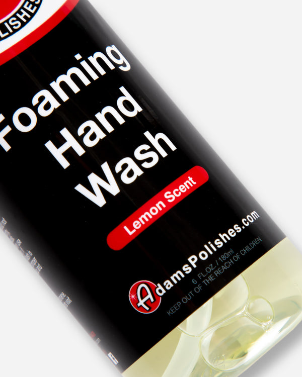 Adam's Foaming Hand Wash