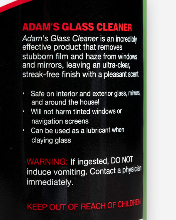 Adam's Glass Cleaner