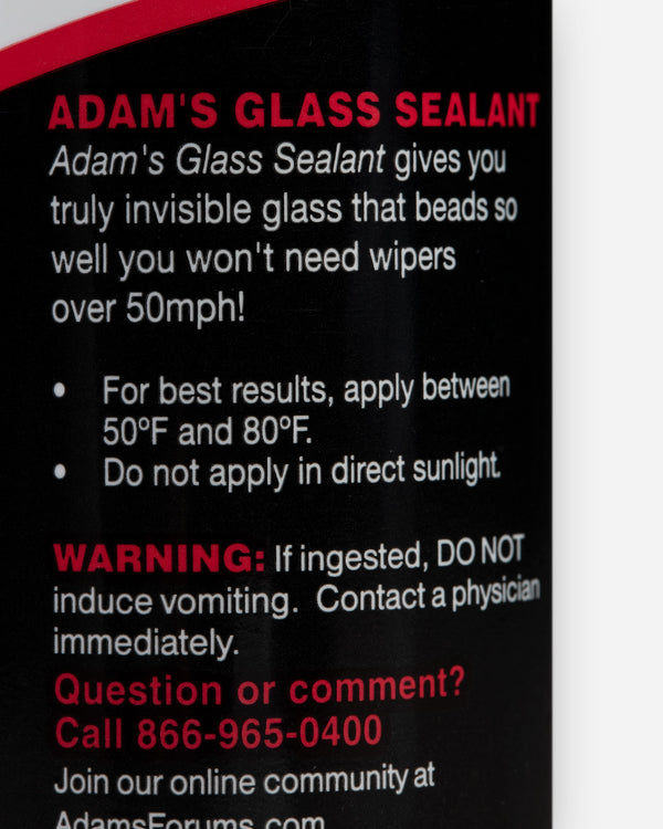 Adam's Glass Sealant