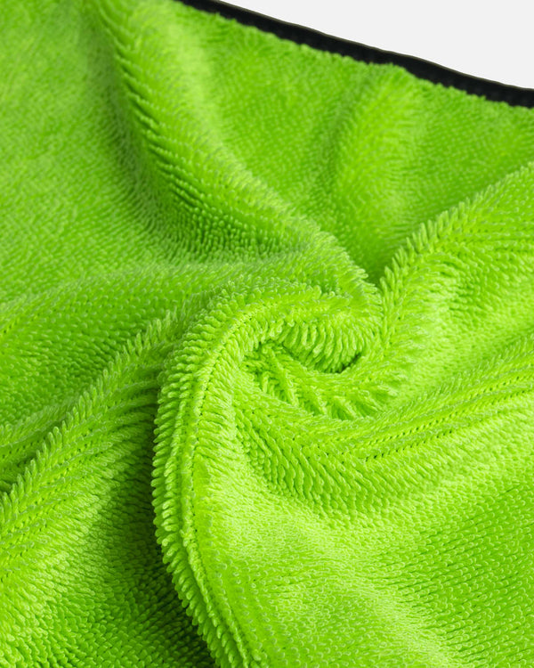 Adam's Green Microfiber Glass Scrubbing Towel