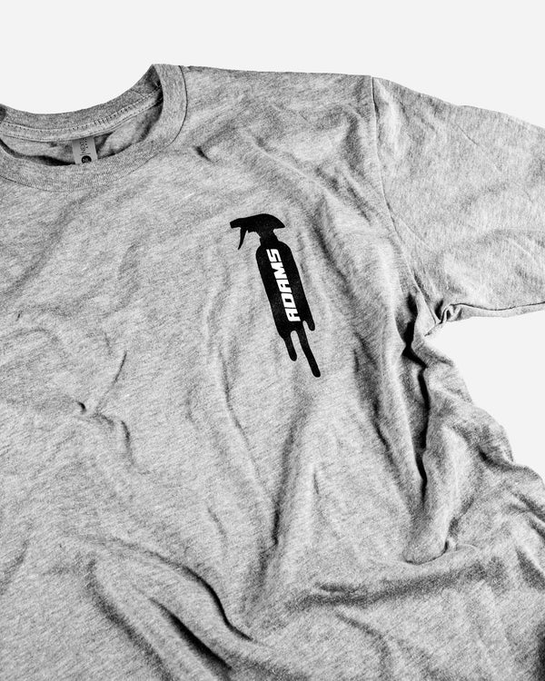 Adam's Drip Logo Grey Shirt