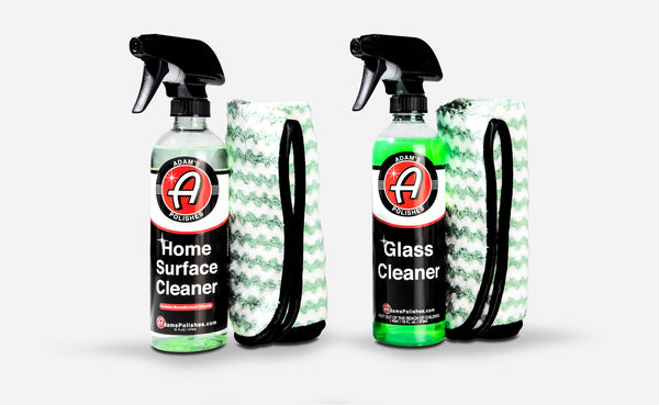 Adam's Home Surface Cleaner & Glass Cleaner Combo