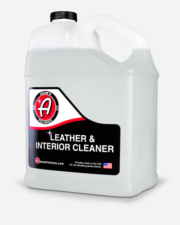 Adam's Leather & Interior Cleaner Gallon with Free 16oz