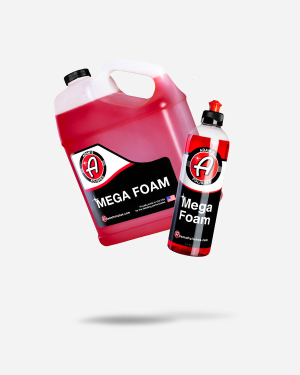 Adam's Mega Foam Gallon With Free 16oz