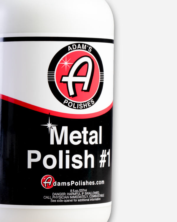 Adam's Metal Polish 8oz Combo
