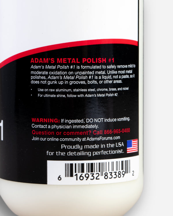 Adam's Metal Polish #1 8oz
