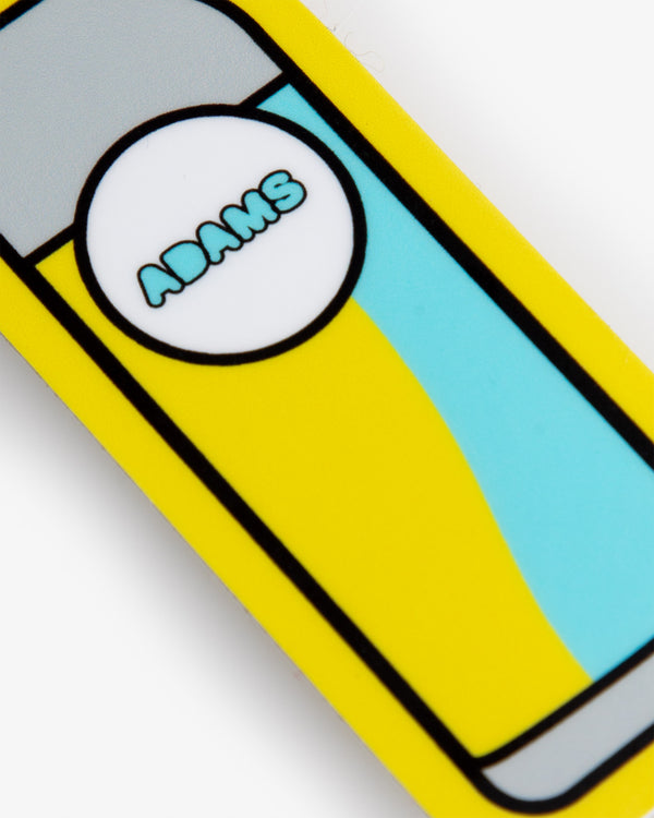 Adam's Pop Art Bottle Sticker