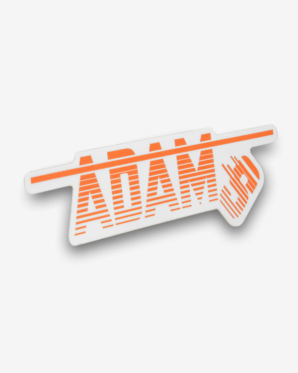 Adam's Fall Faded Lines Sticker