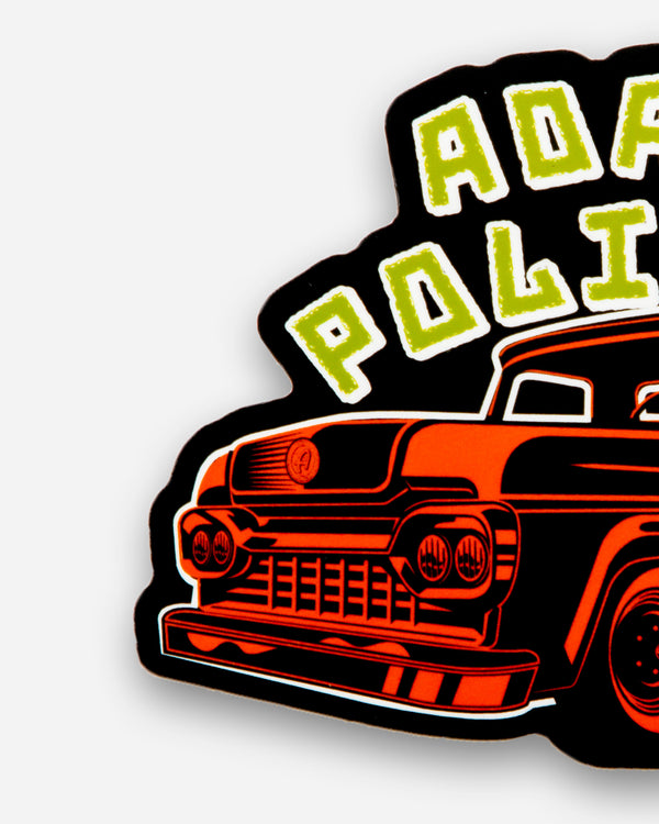 Adam's Zombie Truck Sticker