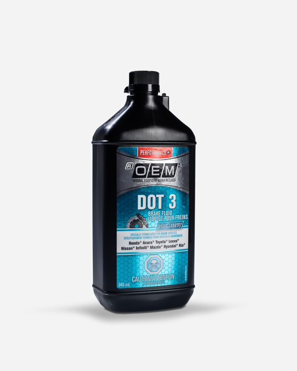 Adam's x Recochem OEM DOT 3 Brake Fluid Asian Vehicles 1 Quart