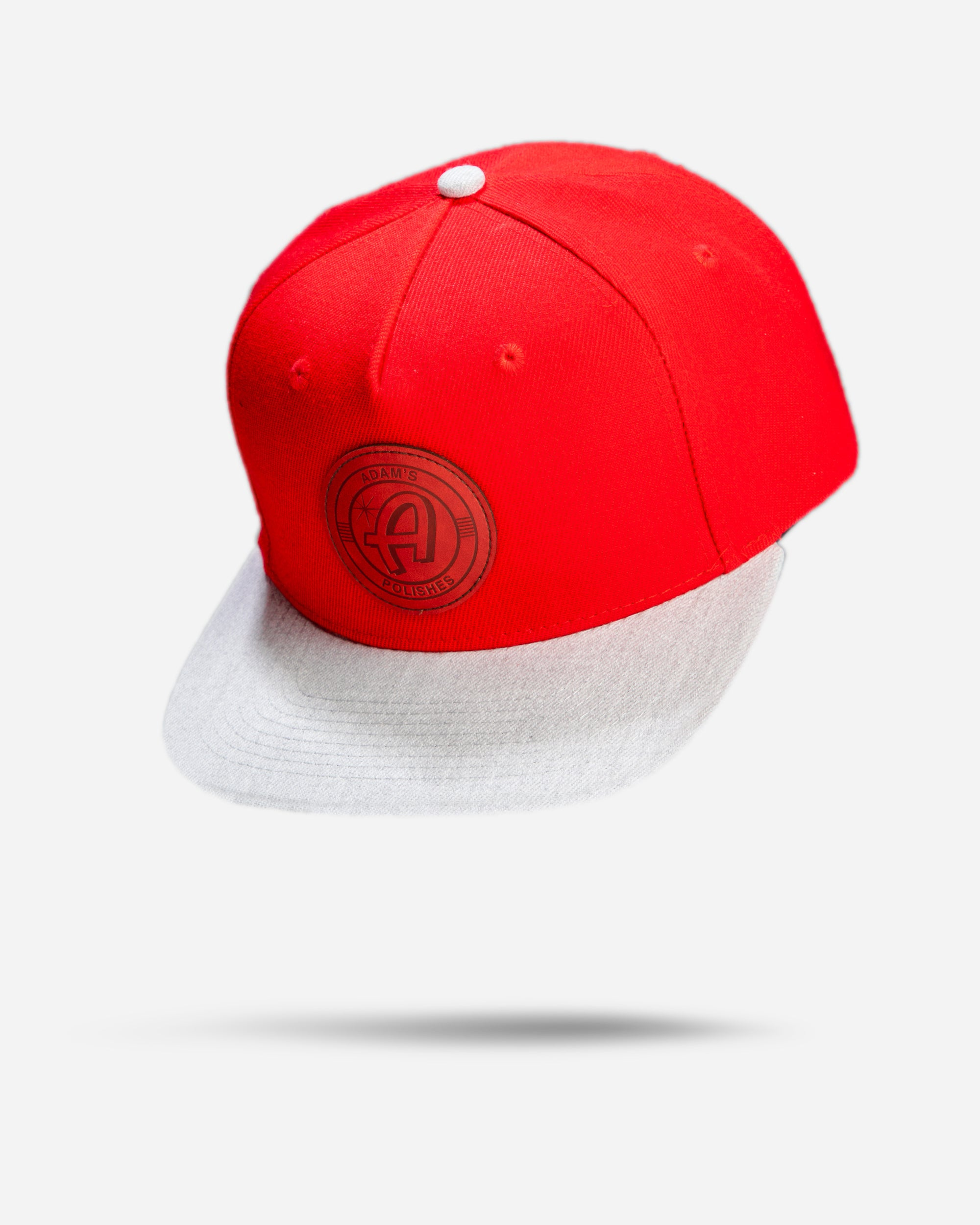 Adam's Red Snapback - Red Patch