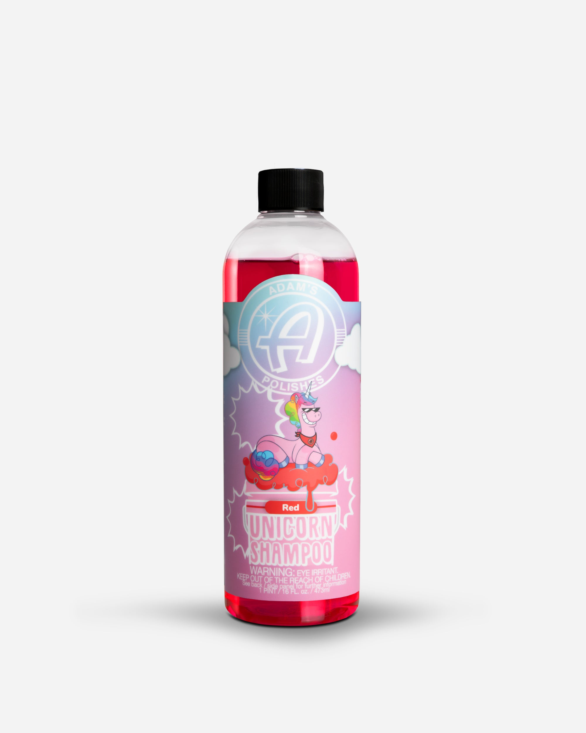 Adam's Red Unicorn Shampoo