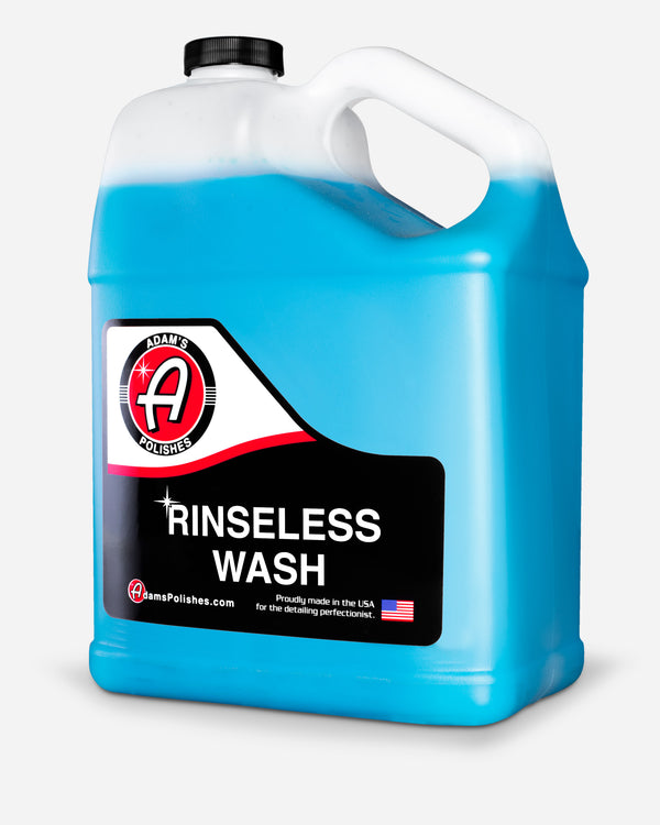 Adam's Rinseless Wash Gallon with Free 16oz