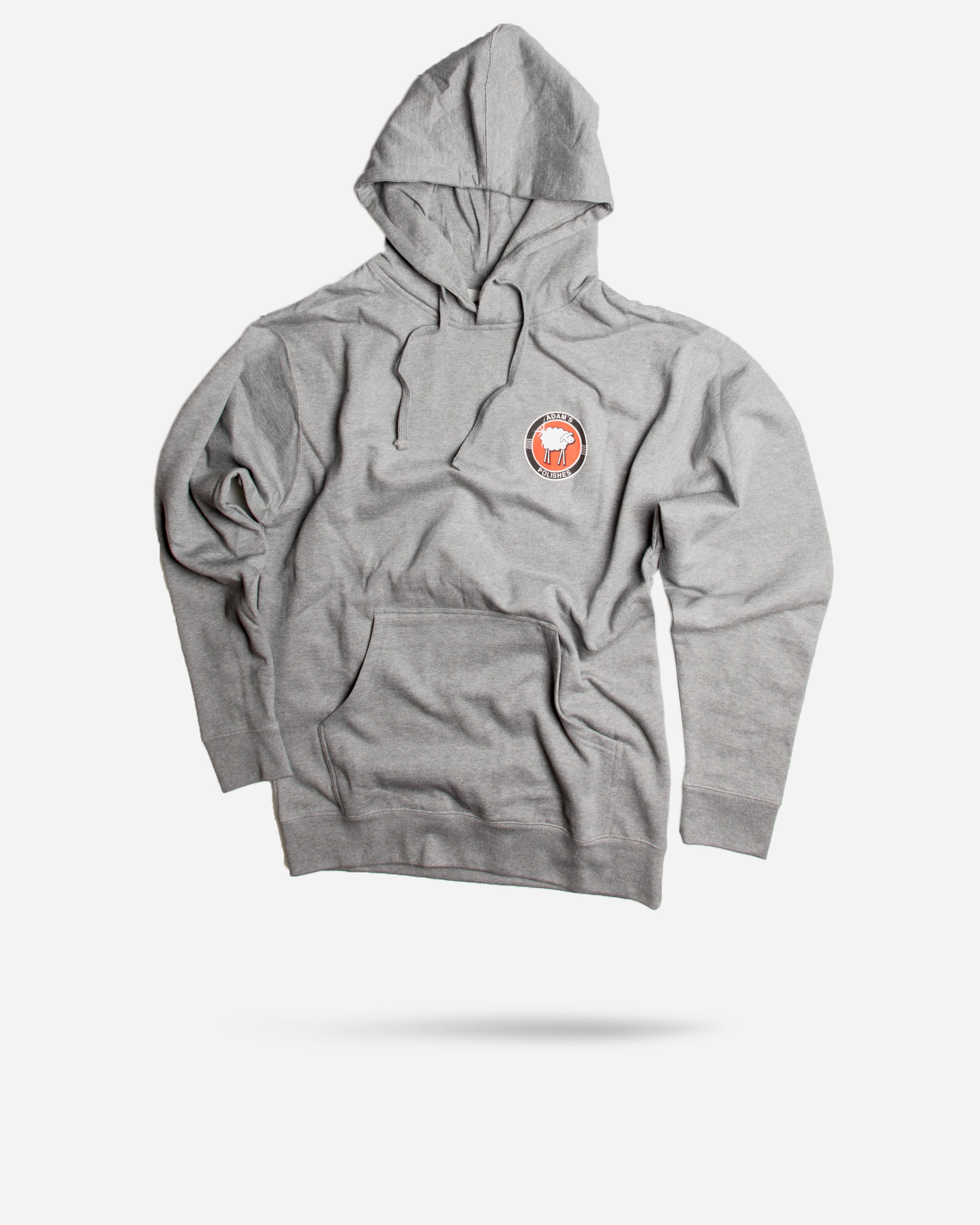 Sheepey Race X Adam's Polishes Grey Hoodie