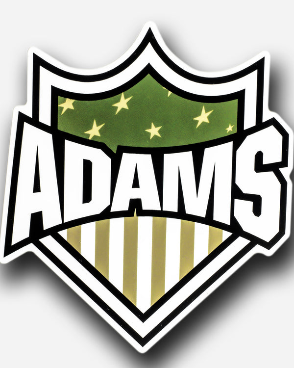 Adam's Green Badge Sticker