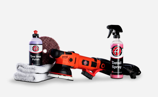 Adam's SK Pro 15mm Swirl Killer Polisher One Step Kit