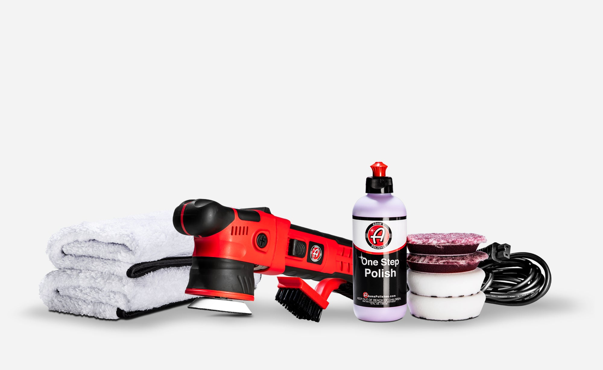 Adam's SK Pro 12mm Swirl Killer Polisher One Step Kit