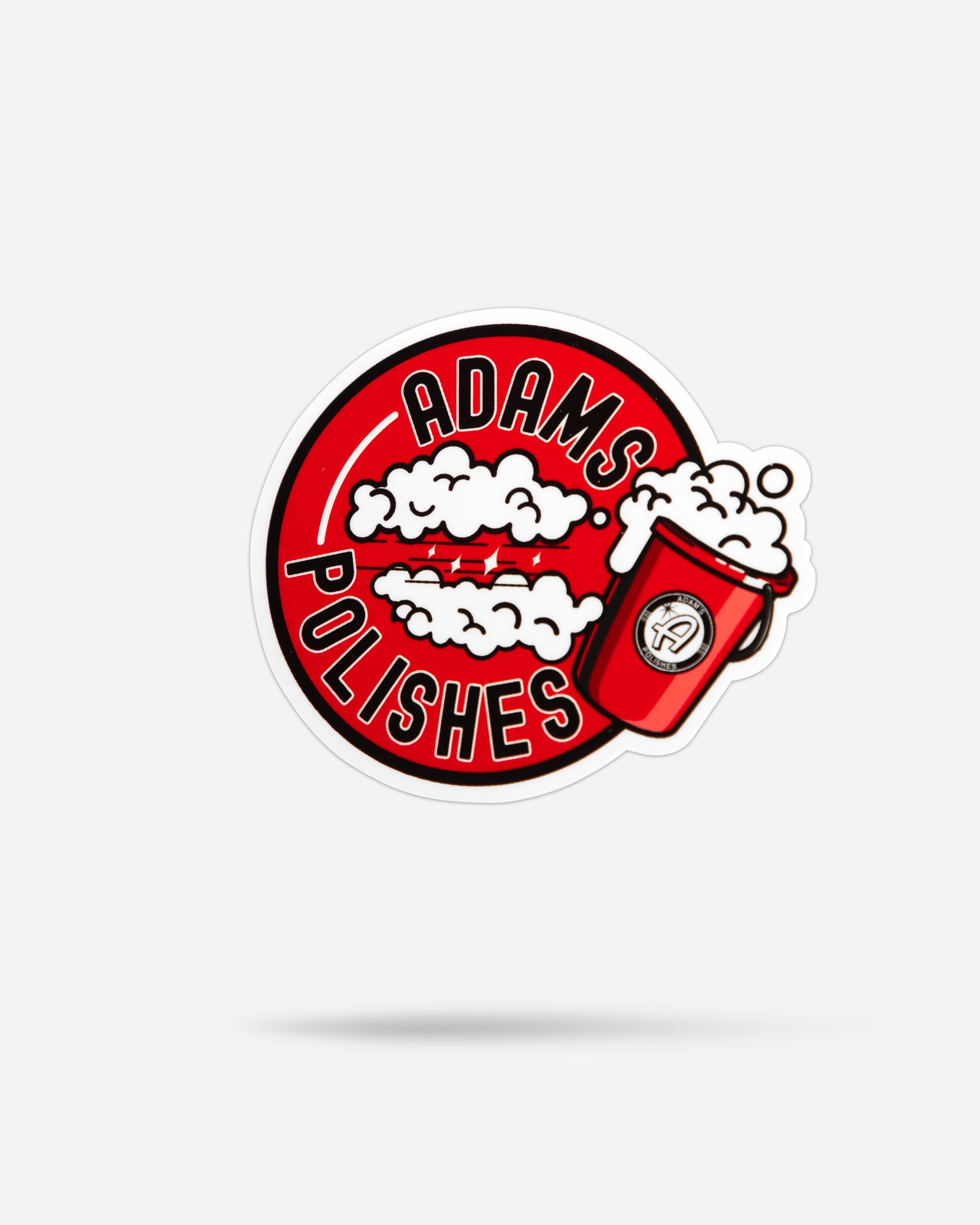 "Adam's 3.5"" Soapy Bucket Sticker"