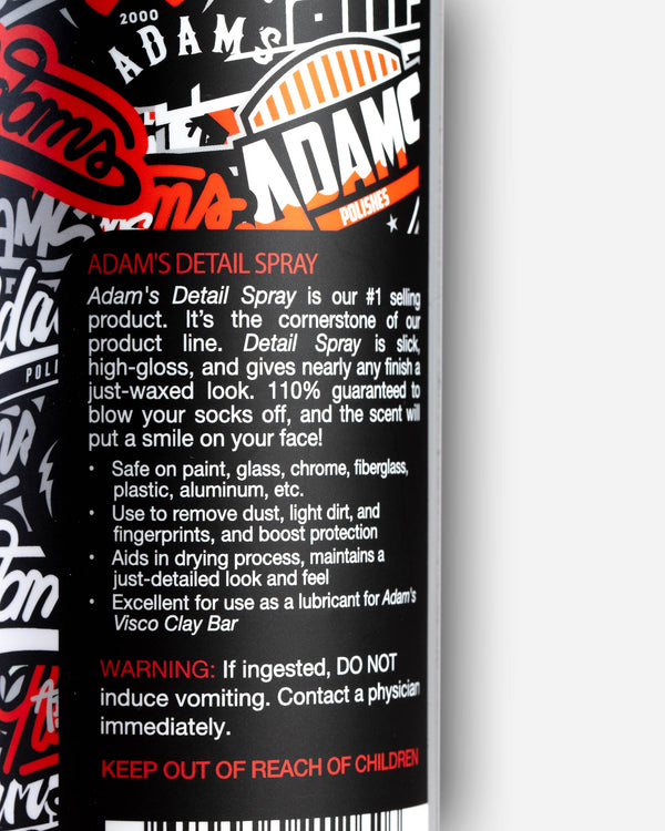 Adam's Sticker Bomb Detail Spray 16oz
