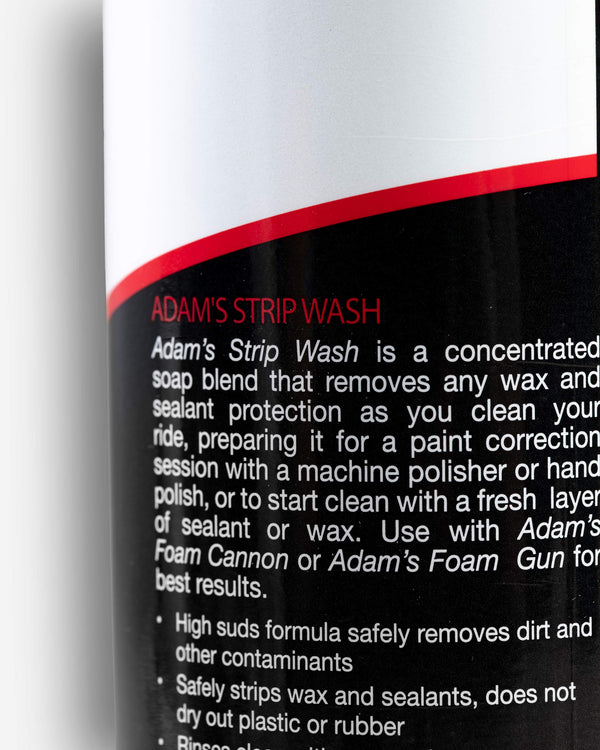 Adam's Strip Wash
