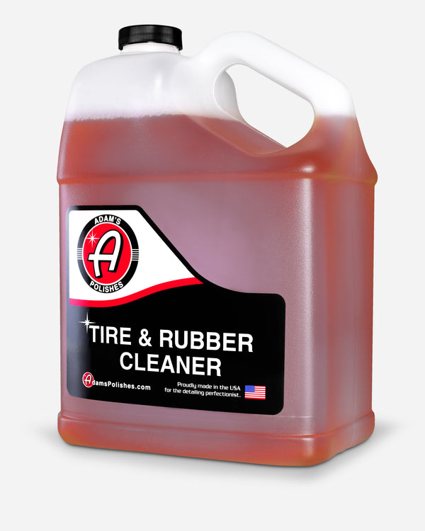 Adam's Tire & Rubber Cleaner Gallon with Free 16oz