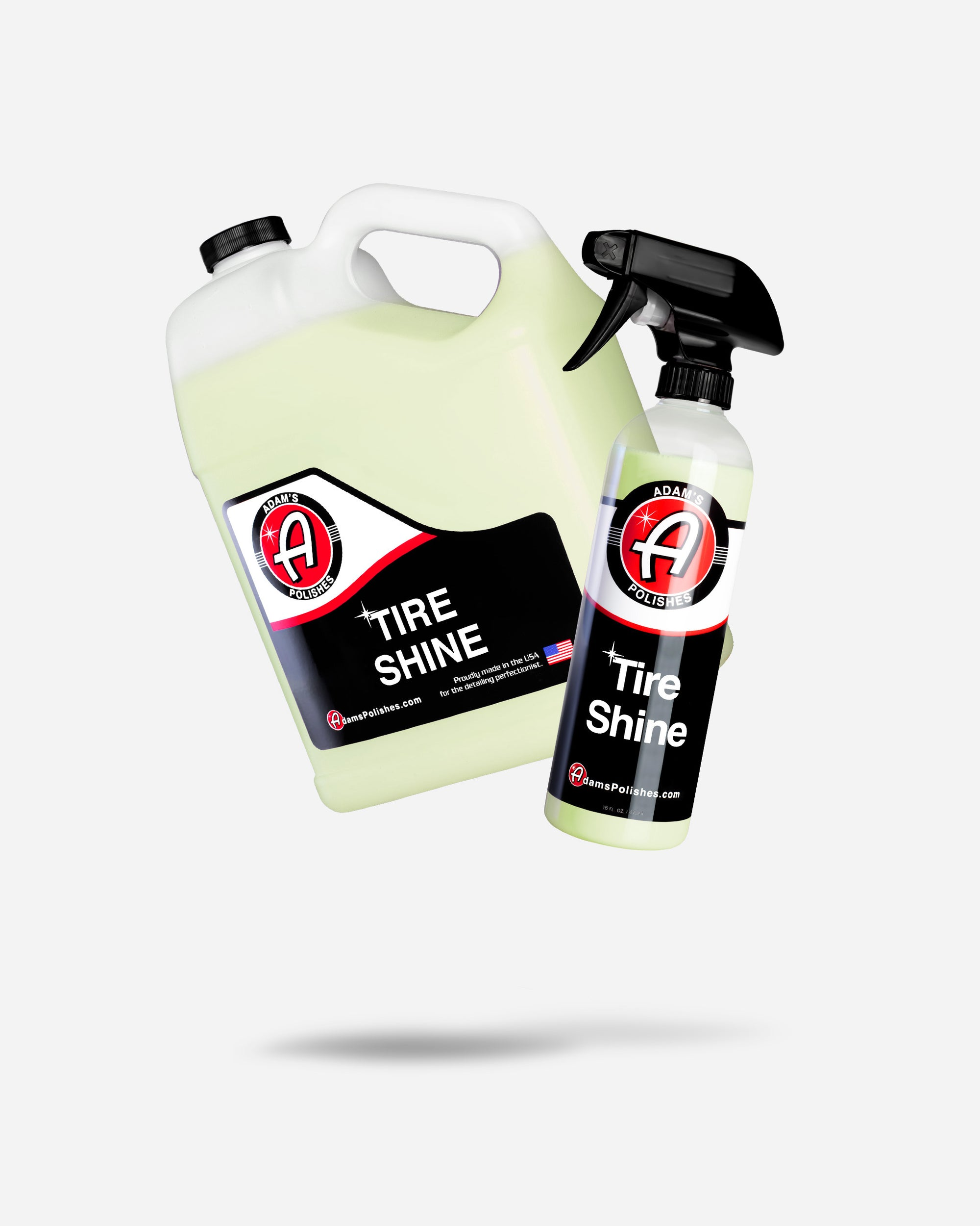 Adam's Tire Shine Gallon with Free 16oz