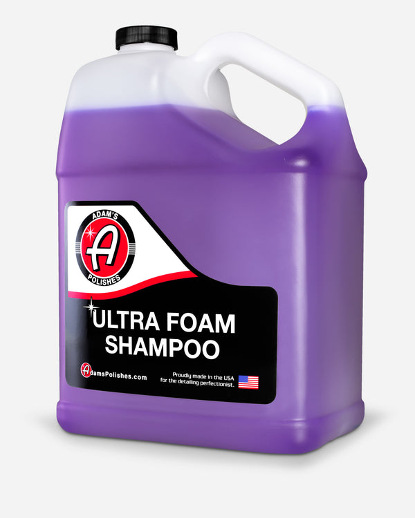 Adam's Ultra Foam Shampoo Gallon with Free 16oz