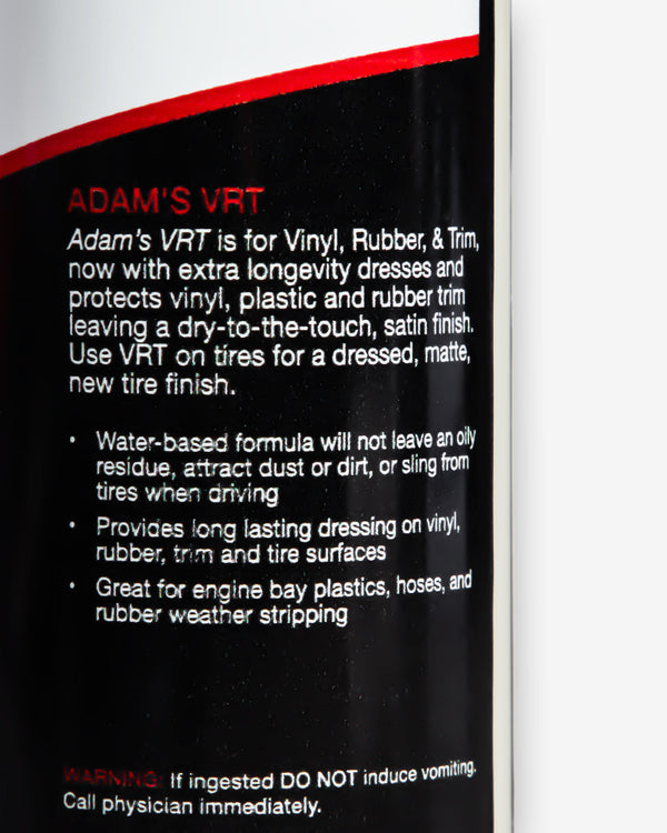 Adam's VRT Tire & Trim Dressing