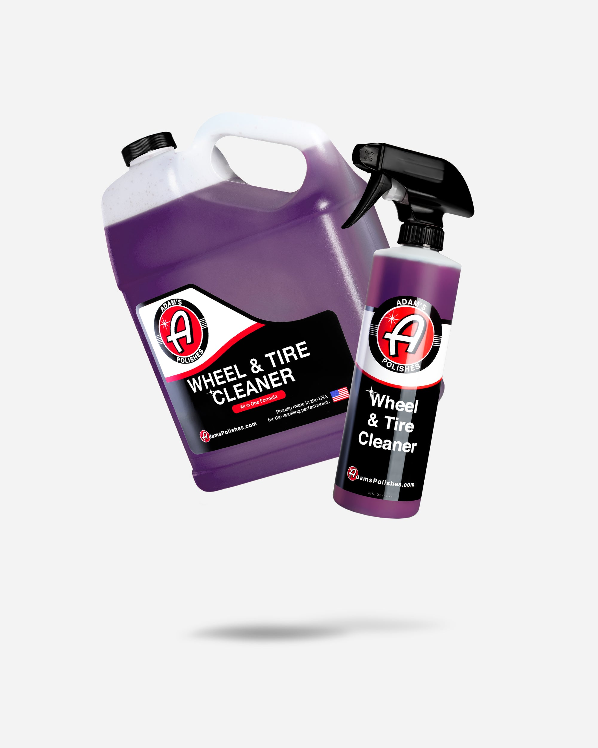 Adam's Wheel & Tire Cleaner Gallon With Free 16oz